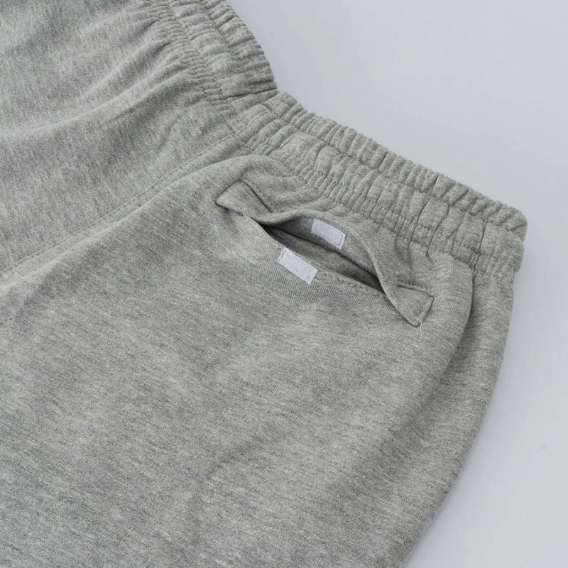 Shorts High Sweat Shorts Outline Logo Heather Grey 20D2P2