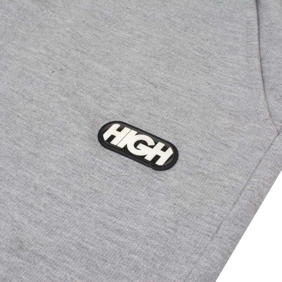 Shorts High Sweatshorts Logo Heater Grey
