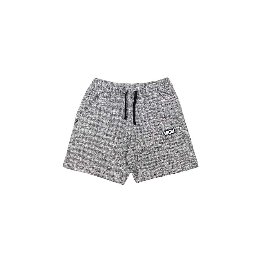 Shorts High Tweed Black