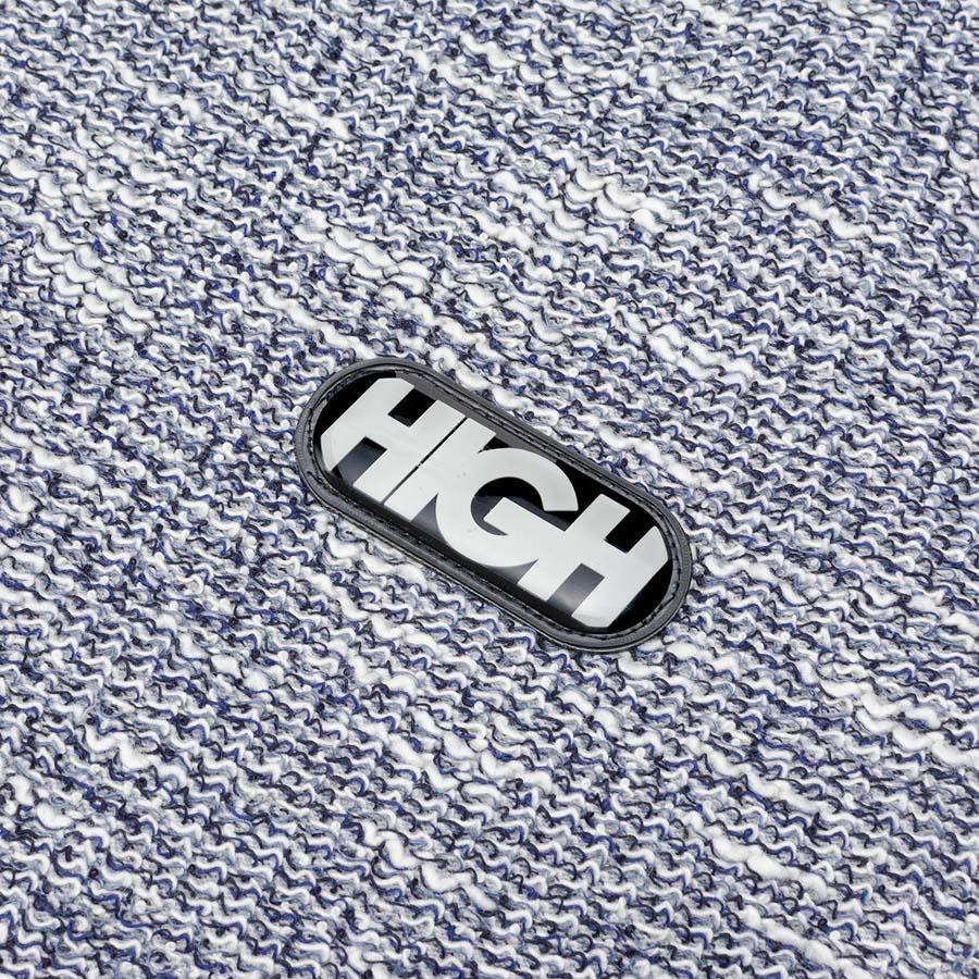 Shorts High Tweed Navy