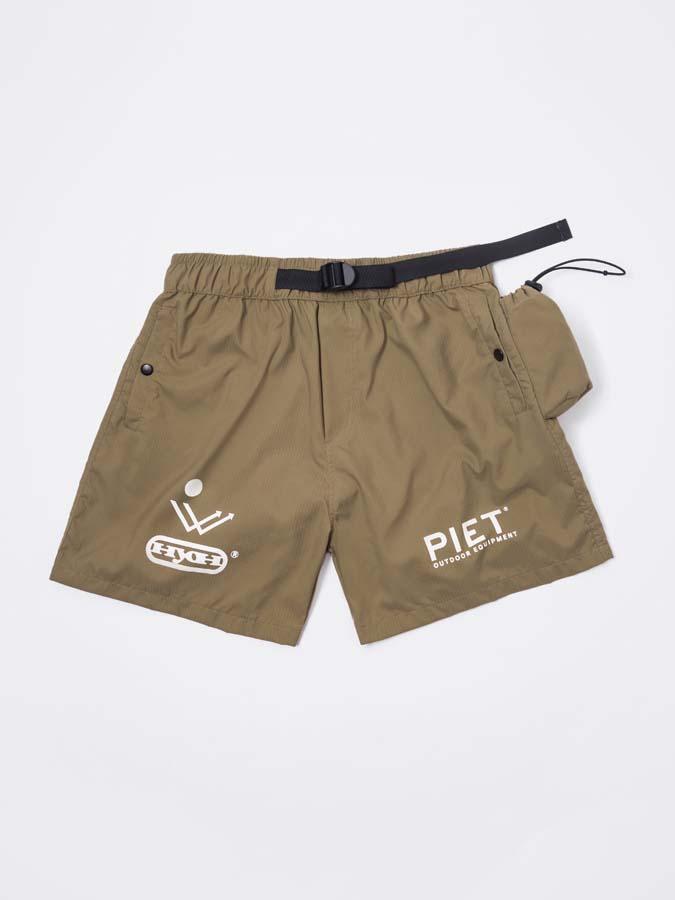 Shorts PIET HYOH Hiking Shorts Khaki