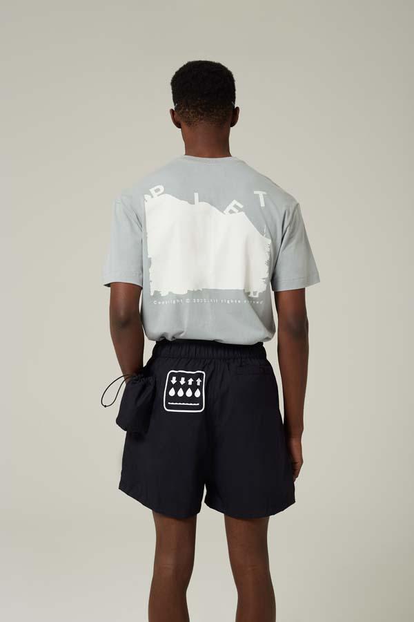 Shorts PIET HYOH Hiking Shorts Preto