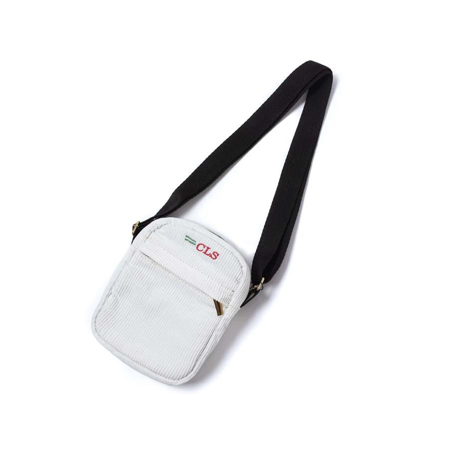 Shoulder Bag Class Corduroy Side Bag CLS White