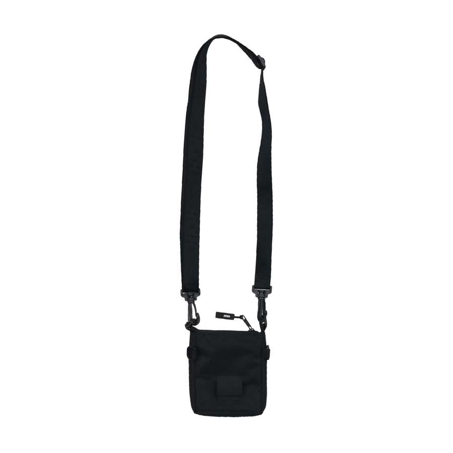 Shoulder Bag High Flatbag Logo Black