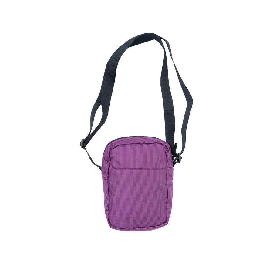 Shoulder Bag High Side Block Purple Orange