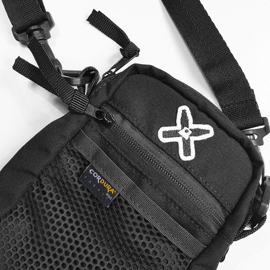 Shoulder Bag WALLS Cordura Preta