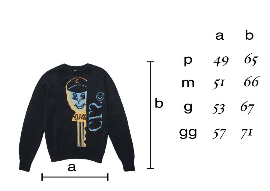 Sweater Class  Chave Navy
