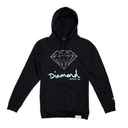 Sweatshirts Diamond OG Sign Hoodie Black