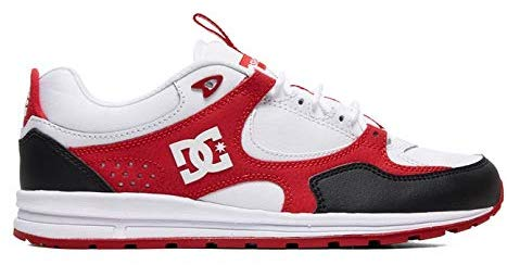 Tênis DC Shoes Kalis Lite Imp Black White Red