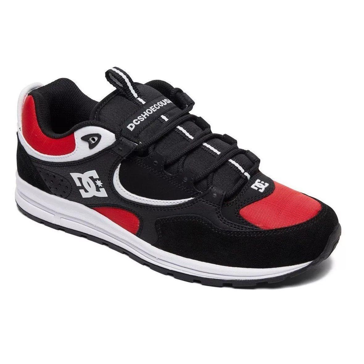 Tênis DC Shoes Kalis Lite Imp Black White Red