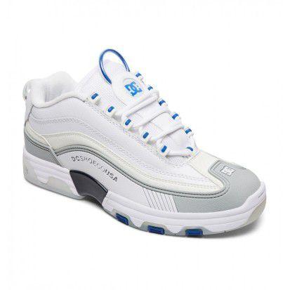 Tênis DC Shoes Legacy Og Imp White Blue