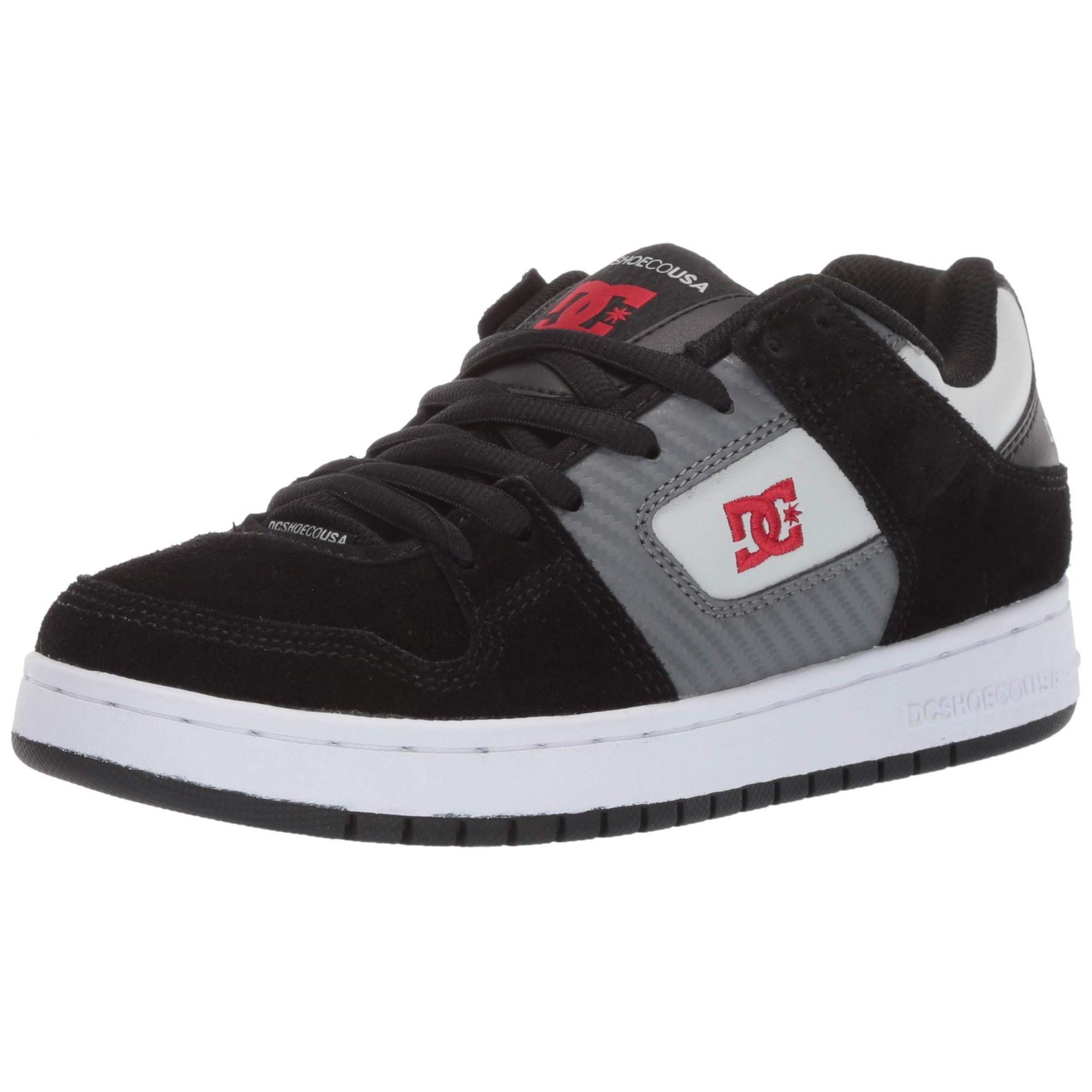Tênis DC Shoes Manteca Imp Black/black/dk Grey