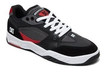 Tênis DC Shoes Maswell IMP Black Red