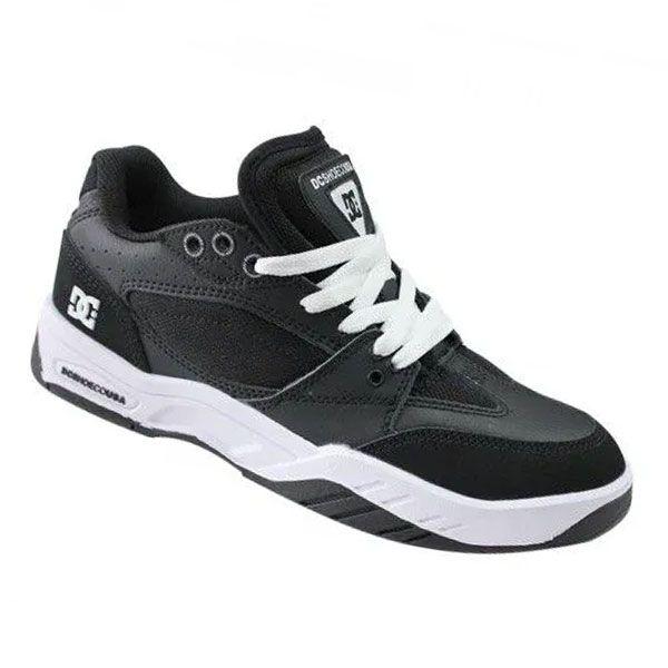 Tênis DC Shoes Maswell IMP Black White