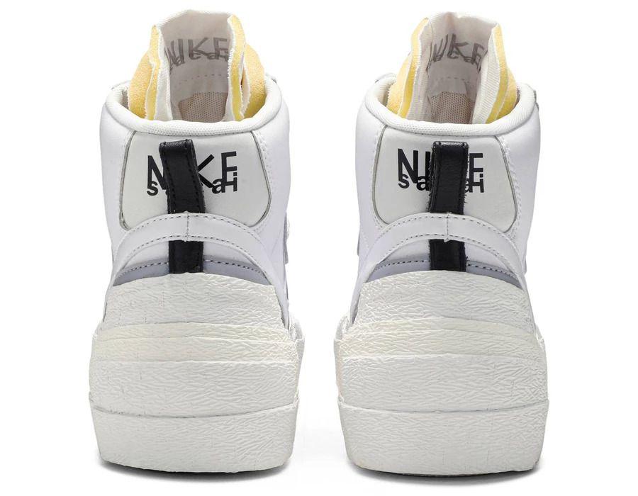 Tênis Nike Blazer Mid Sacai White Grey