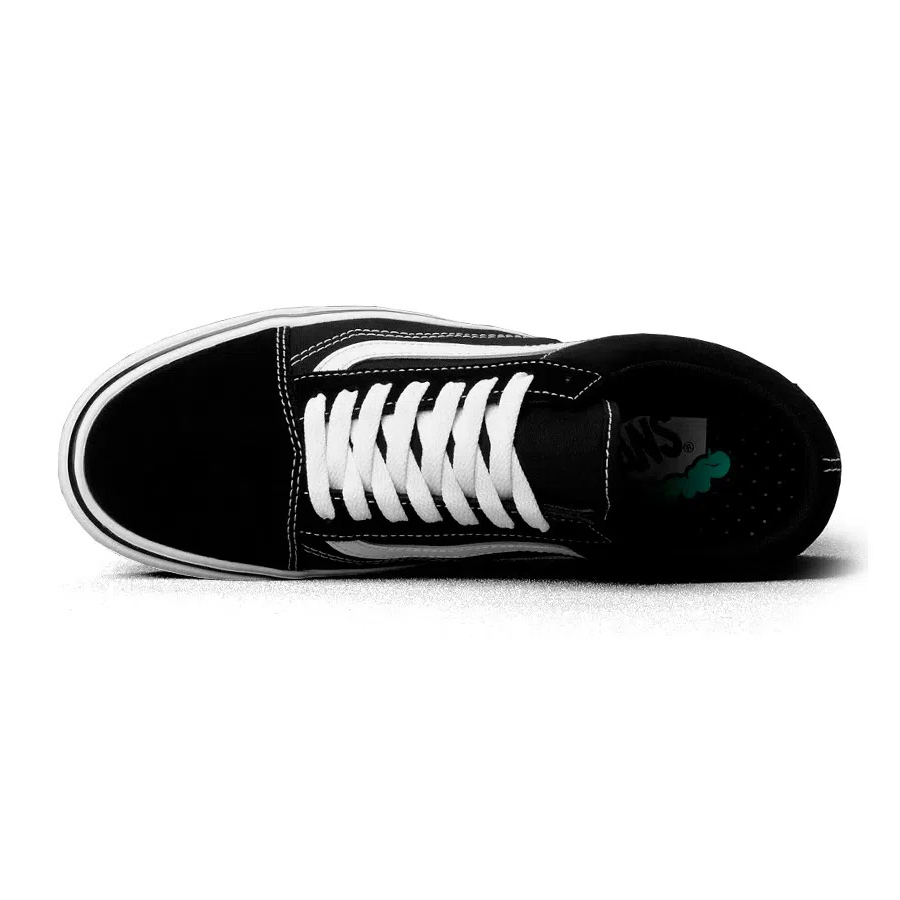 Tênis Vans Comfycush Old Skool Classic Black True White VN0A3WMAVNE