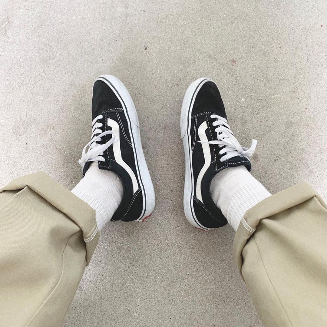 Tênis Vans Old Skool Black and White