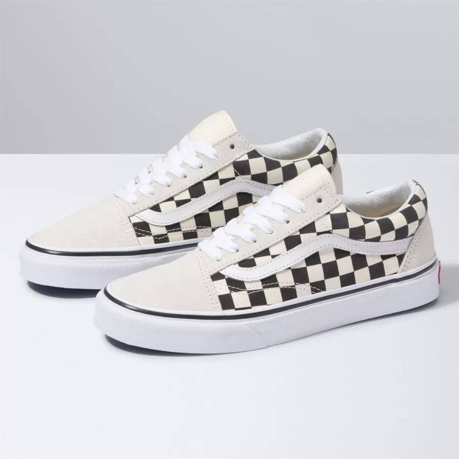 Tênis Vans Old Skool Checkerboard White VNBA38G127K