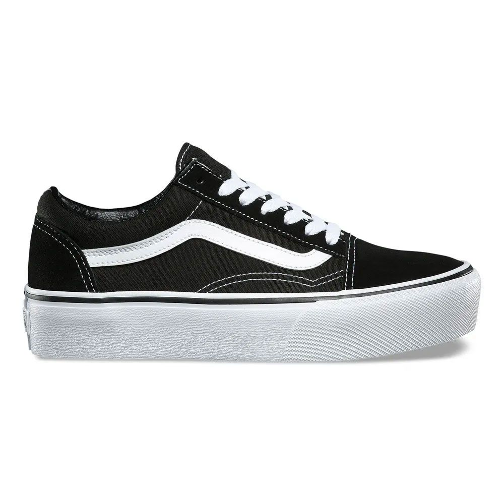 Tênis VANS Old Skool Platform Black White