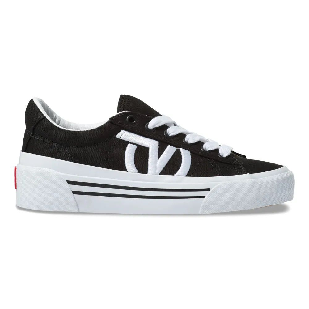 Tênis VANS Sid Ni Black/True White