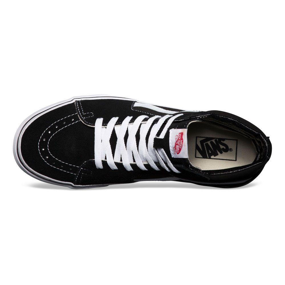 Tênis VANS SK8-Hi Black White