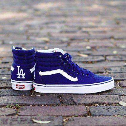 Tênis VANS Sk8-Hi MLB Los Angeles Dogers Azul