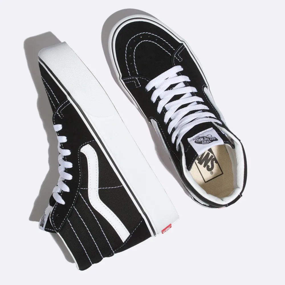 Tênis Vans Sk8-Hi Platform 2.0 Black/True White