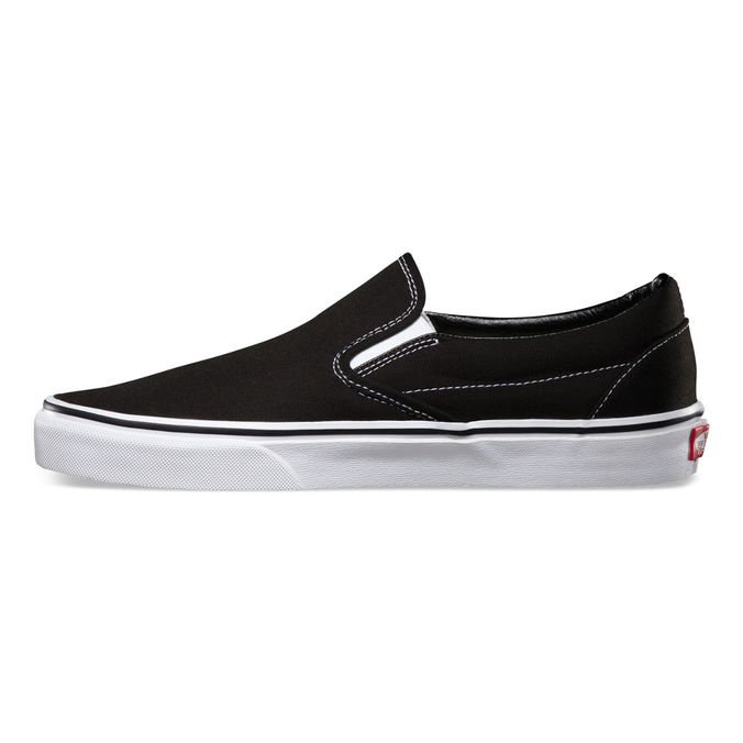 Tênis Vans Slip-On Black and White