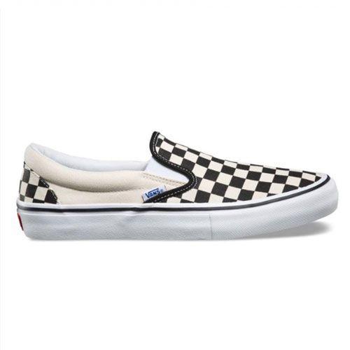 Tênis VANS Slip-On Black/White Checkerboard
