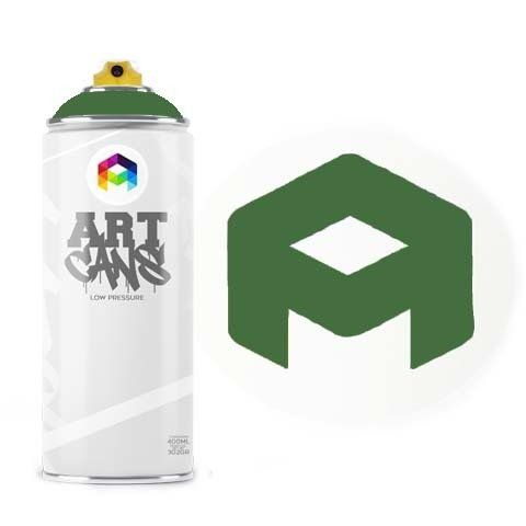 Tinta Spray Art Cans Moss Green 400ml