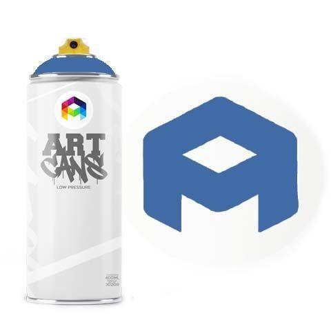 Tinta Spray Art Cans Sky Blue 400ml