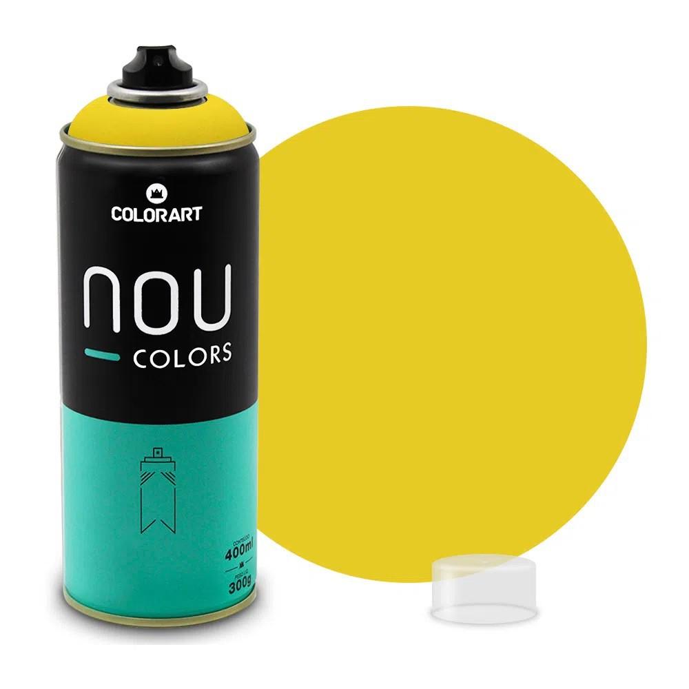 Tinta Spray NOU Amarelo 400ml
