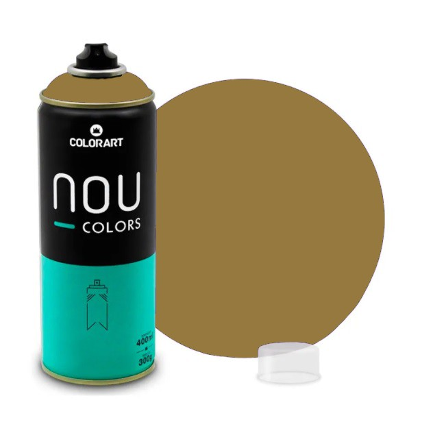 Tinta Spray NOU Amarelo Deserto 400ml