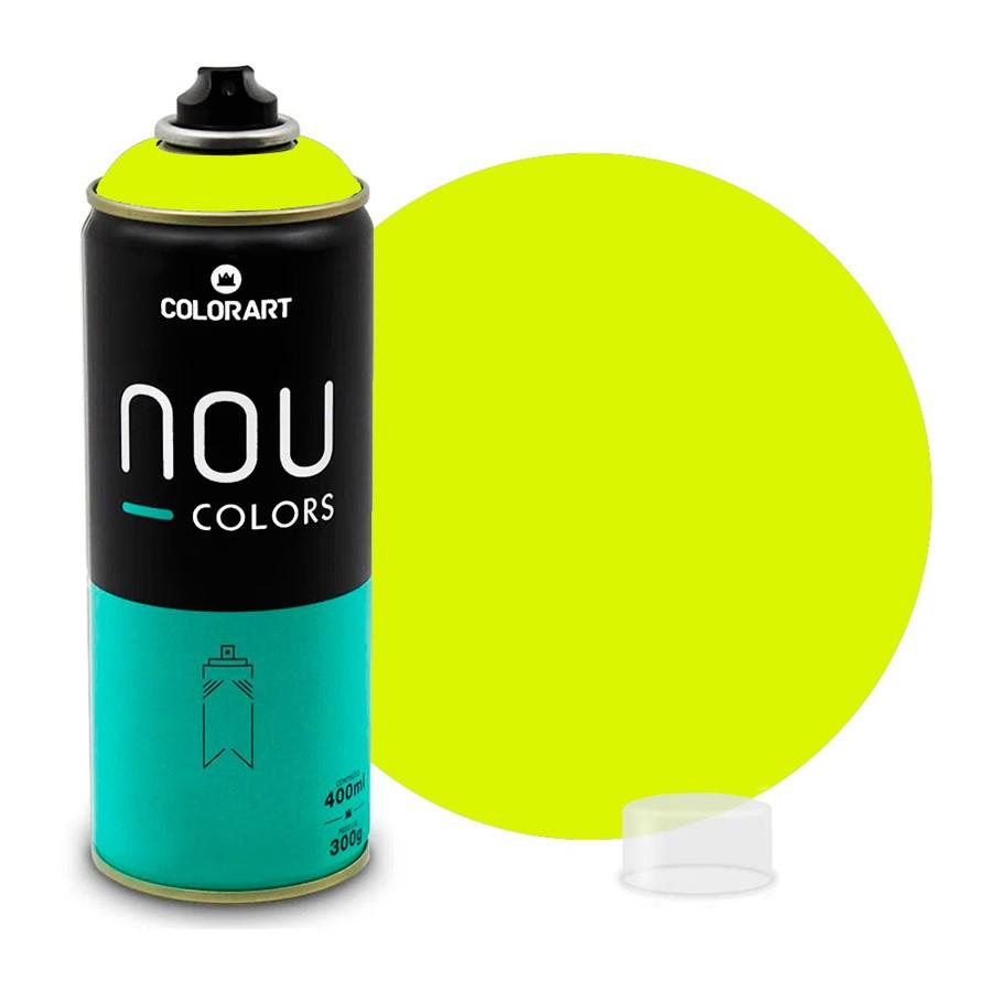 Tinta Spray NOU Amarelo Luminoso 400ml