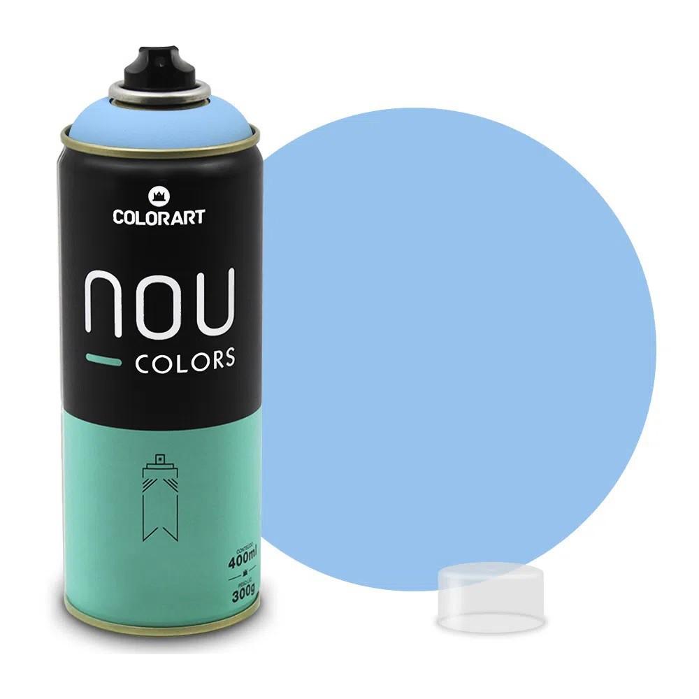 Tinta Spray NOU Azul Claro 400ml