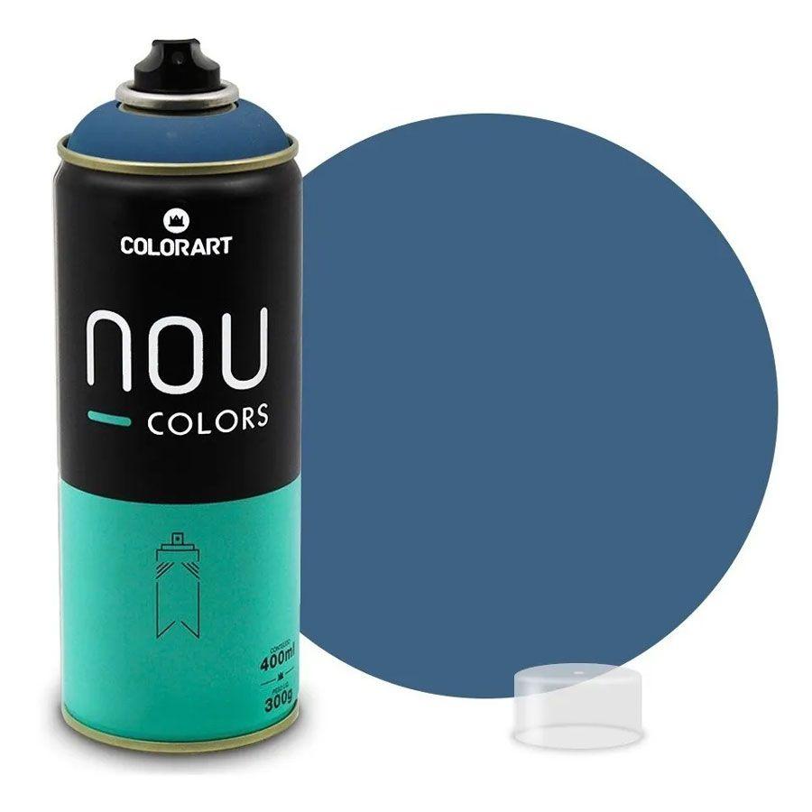 Tinta Spray NOU Azul Lewis 400ml