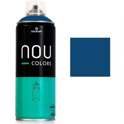 Tinta Spray NOU Azul Navy 400ml