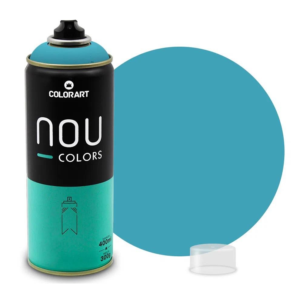 Tinta Spray NOU Azul Retrô 400ml