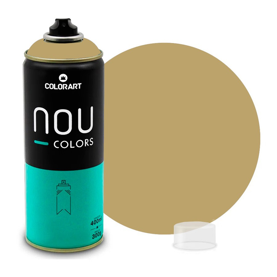 Tinta Spray NOU Bege Brastemp 400ml