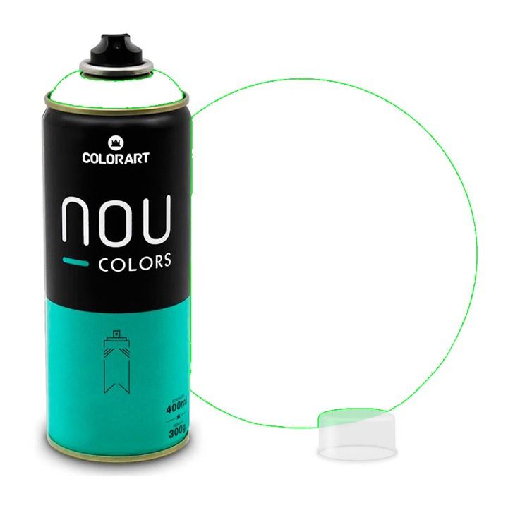 Tinta Spray NOU Branco Transparente 400ml