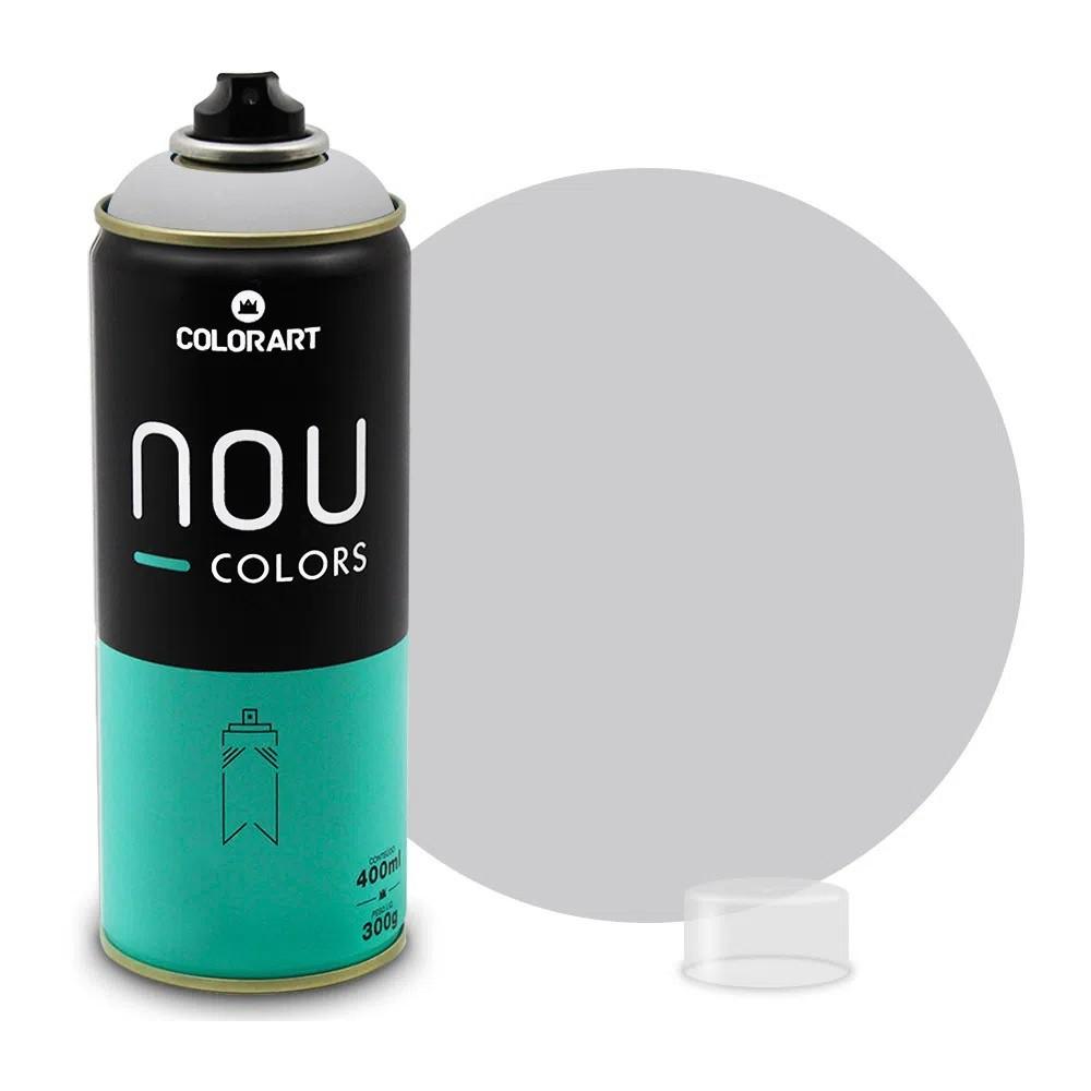 Tinta Spray NOU Cinza 400ml