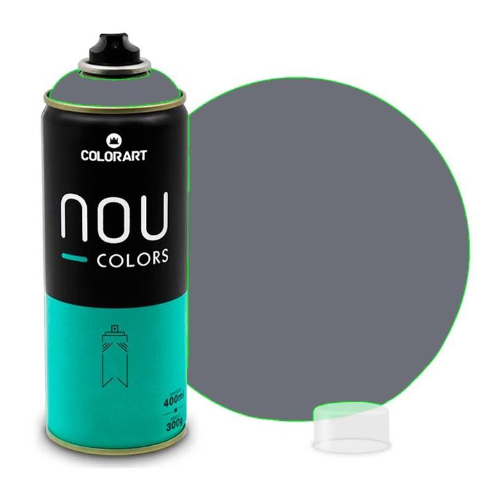 Tinta Spray NOU Cinza Escuro 400ml