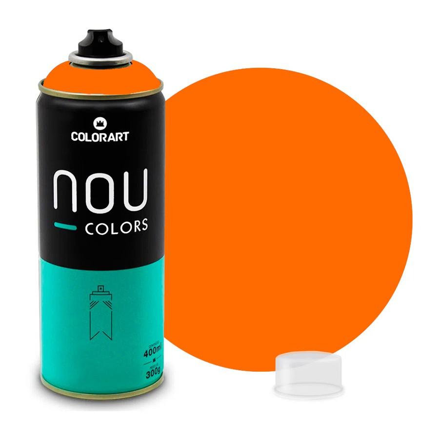 Tinta Spray NOU Laranja Bahia 400ml
