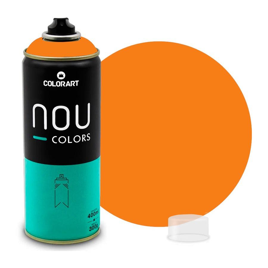 Tinta Spray NOU Laranja Eco 400ml