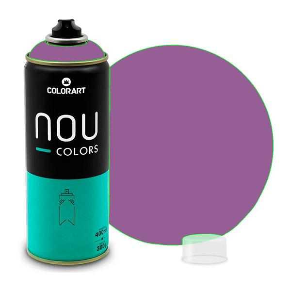 Tinta Spray NOU Lilás 400ml