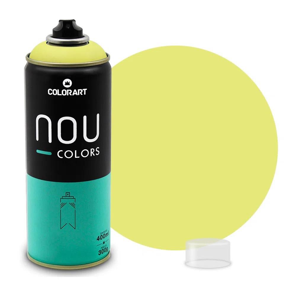 Tinta Spray NOU Limão 400ml