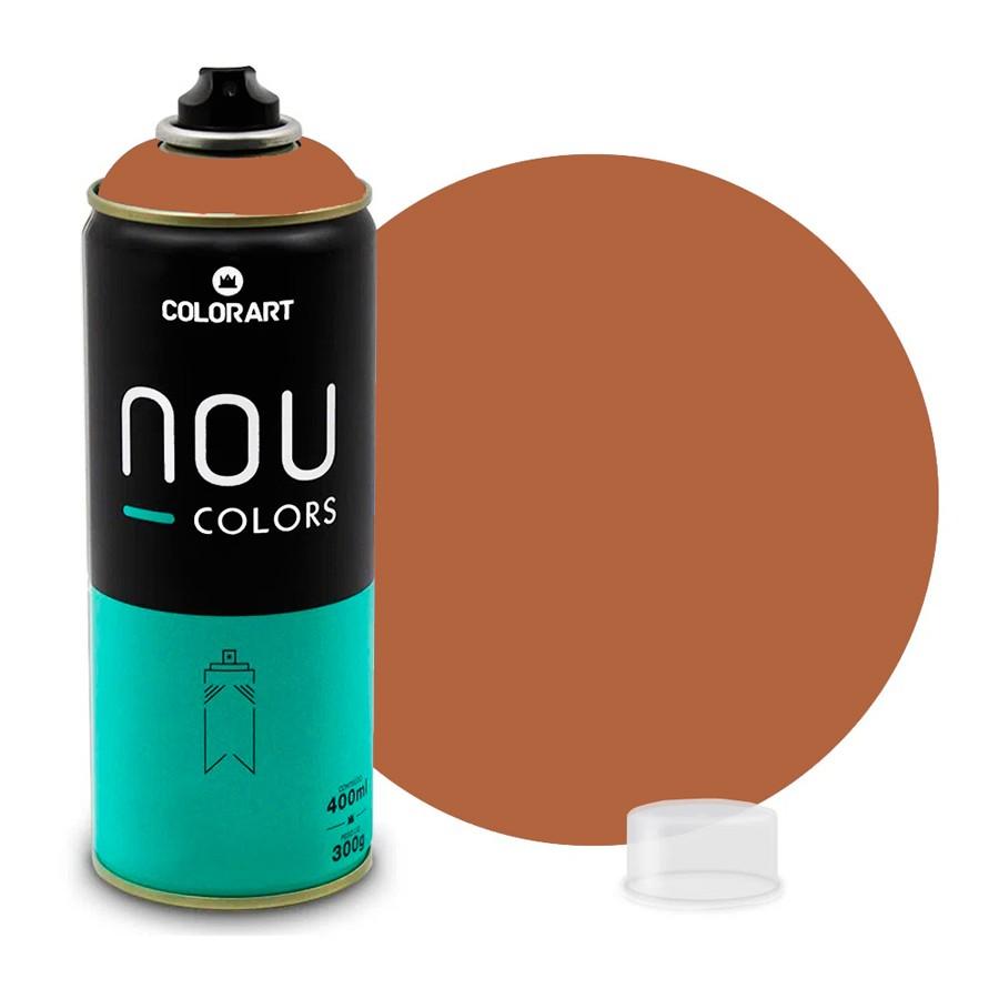 Tinta Spray NOU Marrom Glacê 400ml
