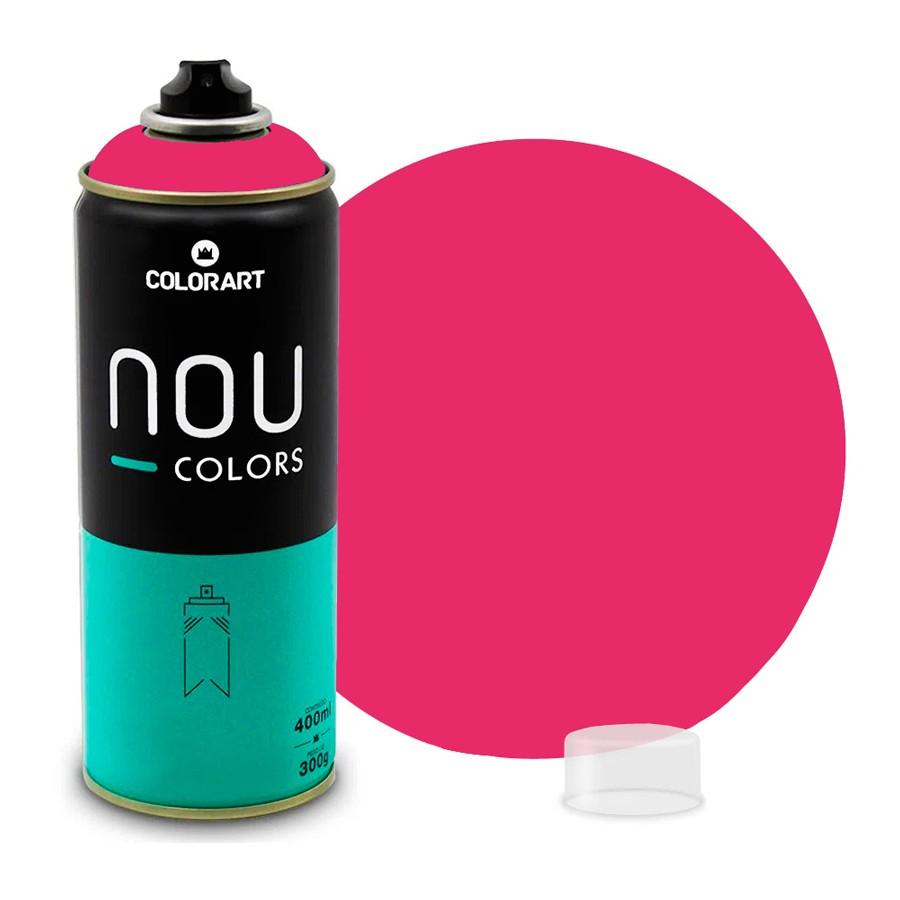 Tinta Spray NOU Rosa Uau 400ml