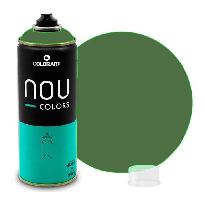 Tinta Spray NOU Verde Caqui 400ml