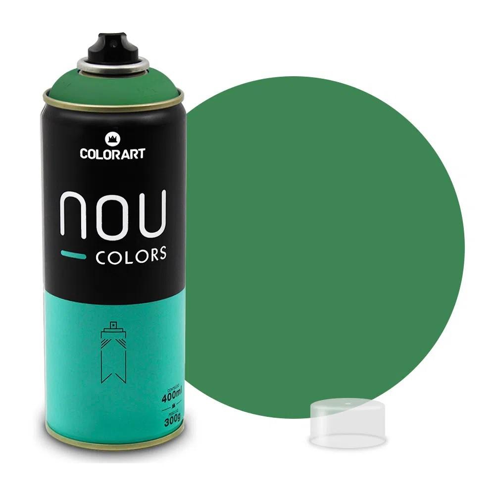 Tinta Spray NOU Verde Escuro 400ml
